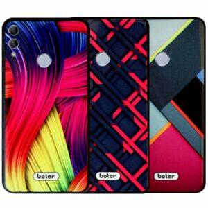 قاب محافظ طرح سرامیکی آنر Boter Glass Pattern Colorful Case | Honor 10 Lite