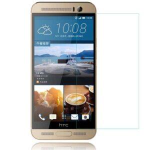 محافظ نمایشگر شیشه ای اچ تی سی 9H Screen Protector Glass | HTC M9 Plus