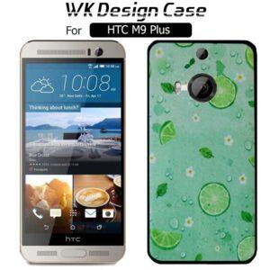 قاب فانتزی براق اچ تی سی WK Soft TPU Green Fruit Design Case | HTC M9 Plus