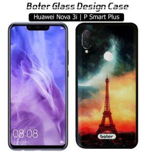 قاب طرح سرامیکی هواوی Boter Glass Eiffel Design Cover Nova 3i | P Smart Plus
