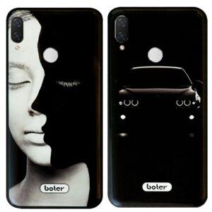 قاب طرح دار هواوی Boter Glass Black Design Case Huawei Nova 3i | P Smart Plus