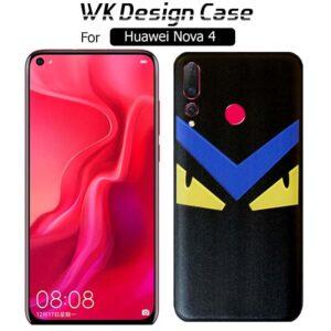 قاب محافظ طرح دار هواوی WK Soft TPU Angry Eyes Design Case | Huawei Nova 4