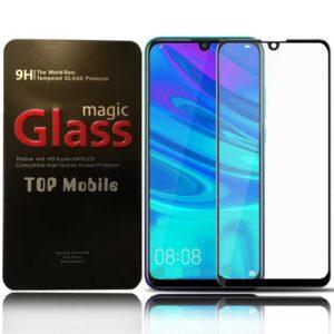 محافظ صفحه پوشش منحنی هواوی Magic Full Glue 5D Glass | Huawei Y7 Pro 2019