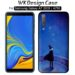 قاب مات طرح دار سامسونگ Wk Design Blue Night Case Galaxy A7 2018 | A750