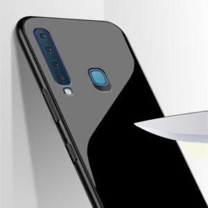 قاب محافظ شیشه ای سامسونگ Luxury Glass Case Galaxy A9 2018   A9 Star Pro   A9s