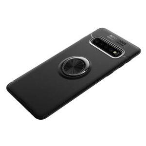 قاب طزح چرم انگشتی سامسونگ Becation Magnetic Ring Case | Galaxy S10