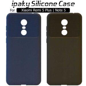 قاب محافظ سیلیکونی شیائومی ipaky Silicone Case Xiaomi Redmi Note 5 | Redmi 5 Plus