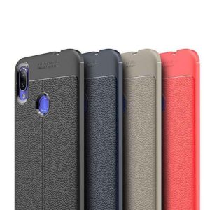 قاب طرح چرم شیائومی Auto Focus Leather Pattern Texture Case | Xiaomi Mi Play