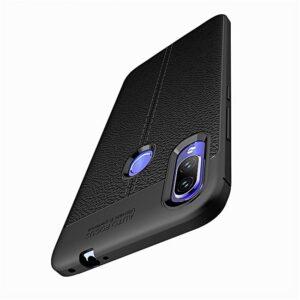 قاب طرح چرم شیائومی Auto Focus Leather Pattern Texture Case   Xiaomi Mi Play