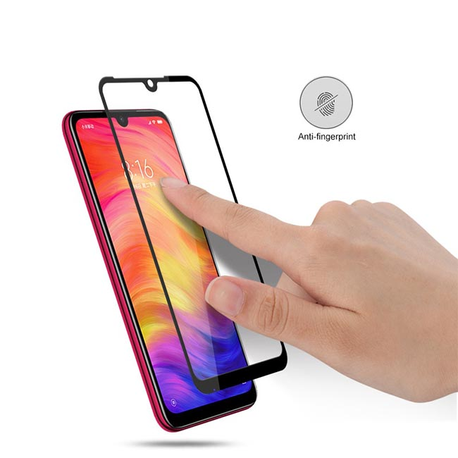 محافظ صفحه تمام چسب شیائومی Magic Full Coverage 5D Glass | Xiaomi Redmoi Note 7