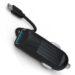 شارژر فندکی سریع دو پورت EMY USB + Cable Universal Car Charger | MY-125