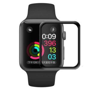 محافظ شیشه ای نمایشگر اپل واچ 4D Curved Tempered Glass Apple Watch 38mm