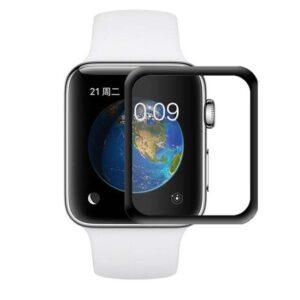 محافظ صفحه نمایش شیشه ای اپل واچ 4D Curved Glass Apple Watch 40mm