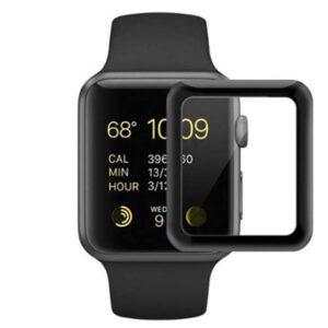 محافظ شیشه ای نمایشگر اپل واچ Full Surface Glass Apple Watch 42mm