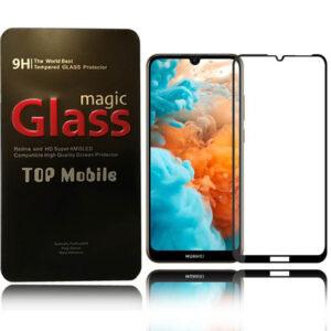 محافظ صفحه پوشش منحنی هواوی Magic Full Coverage 5D Glass | Huawei Y6 Pro 2019