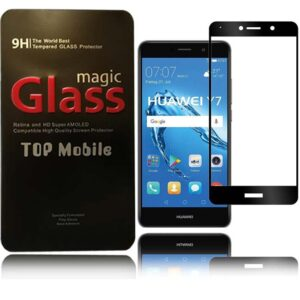 محافظ صفحه پوشش منحنی هواوی Magic 5D Glass Huawei Y7 Prime | Enjoy 7 Plus