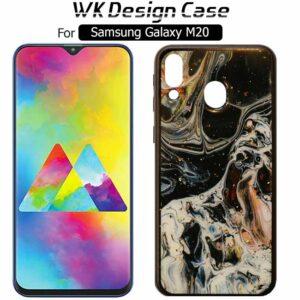 قاب براق طرح مرمر سامسونگ TC Bright Marble Design Glass Case | Galaxy M20