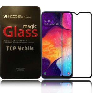 محافظ صفحه نمایش تمام چسب سامسونگ Magic Full Coverage Glass   Galaxy A50