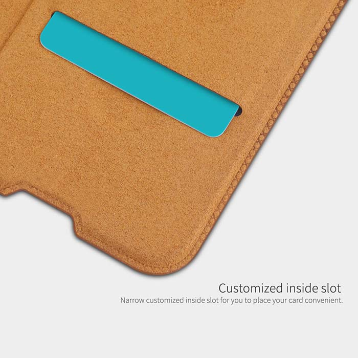 کیف چرمی نیلکین سامسونگ Nillkin PU Leather Qin Business Cover | Galaxy M20