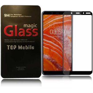 محافظ صفحه پوشش منحنی نوکیا Magic Full Coverage 5D Glass Nokia 3.1 Plus   X3