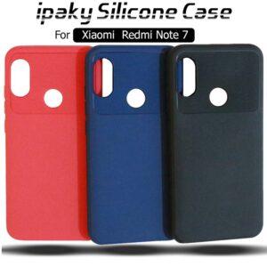 قاب محافظ سیلیکونی شیائومی ipaky Silicone ShockProof Case | Xiaomi Redmi Note 7