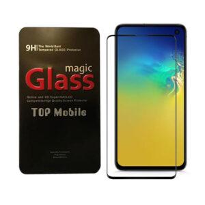 محافظ نمایشگر تمام چسب سامسونگ Magic 9D Screen Glass | Galaxy S10e