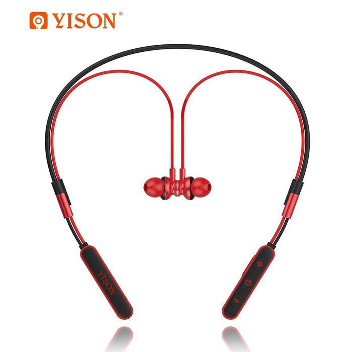 هندزفری بلوتوث گردنی وایسون YISON Sport With Mic Wireless Earphone   E3