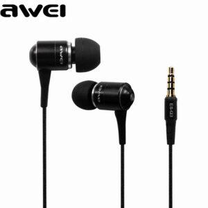 هندزفری سوپرباس آوی Awei Super Bass with Mic Metal Headphone | Q3i