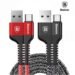کابل سریع تایپ سی بیسوس Baseus 9 Layer SR Type-C 2A Fast Sync & Charge Cable