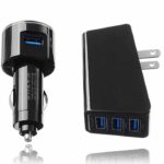 buy price LDNIO DL-AC318 10.5W 2.1A wall charger & car Charger خرید شارژر دیواری و شارژر فندکی 16