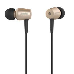 هندزفری فلزی سلبریت YISON Metal Earphones With Microphone 3.5mm | G1