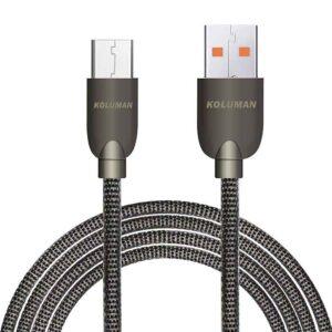 کابل سریع کلومن Koluman Micro USB 2.4A Data & Rapid Charge Cable | KD-17