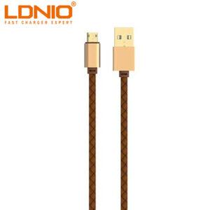 کابل شارژ و داده الدینیو LDNIO Two Side Fast Connector Cable | LS25
