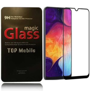 محافظ نمایشگر پوشش منحنی سامسونگ Magic 9D Glass Guard   Galaxy A20