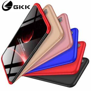 قاب محافظ سه تیکه سامسونگ Full Cover 3 in 1 Matte Gkk Case | Galaxy A20