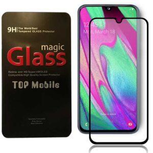 محافظ شیشه ای نمایشگر سامسونگ Magic 9D Coverage Glass | Galaxy A40