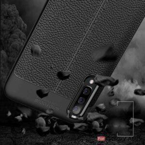 قاب طرح چرمی اتوفوکوس سامسونگ Auto Focus Texture Case | Galaxy A70