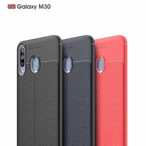قاب محافظ طرح چرمی اتوفوکوس سامسونگ Auto Focus Texture Case | Galaxy M30