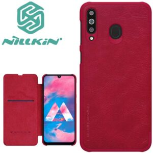 کیف محافظ نیلکین سامسونگ Nillkin Qin Series Leather Case | Galaxy M30