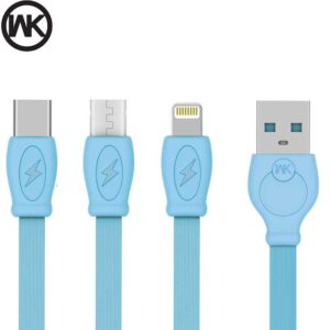 کابل سریع شارژ و دیتا دبلیو کی WK Design 1M Data Charger Fast cable | WDC-023