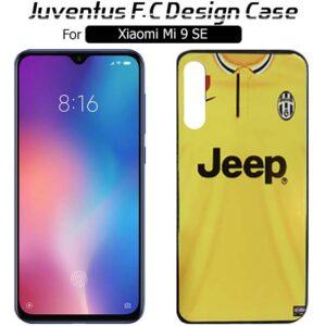 قاب براق یوونتوس شیائومی Juventus F.C Design Cover | Xioami Mi 9 SE