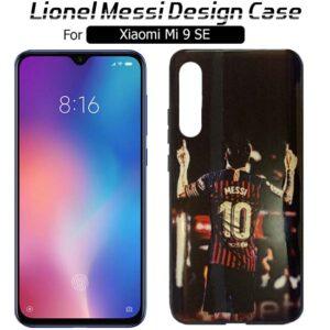قاب براق طرح لیونل مسی شیائومی WK Design Lionel Messi Case | Xiaomi Mi 9 SE