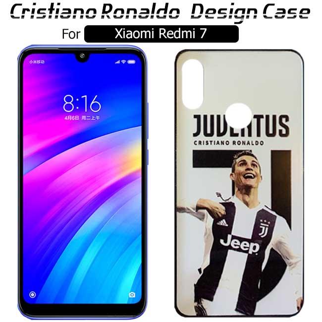قاب براق کریستیانو رونالدو شیائومی Cristiano Ronaldo Design Case | Xiaomi Redmi 7
