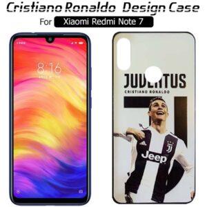 قاب طرح کریستیانو رونالدو شیائومی WK Cristiano Ronaldo Case | Redmi Note 7