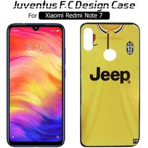 قاب براق طرح یوونتوس شیائومی Juventus F.C Design Cover | Redmi Note 7