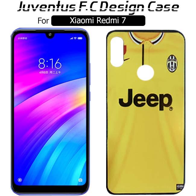قاب طرح یوونتوس شیائومی Juventus F.C Design Cover | Xiaomi Redmi 7