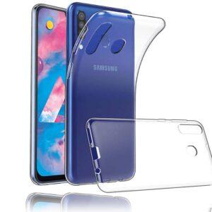 قاب شفاف پشت طلقی سامسونگ Crystal Shockproof Clear Case | Galaxy M30