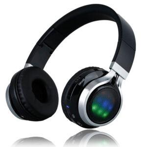 هدفون ارگونومیک و قابل حمل HD Sound Bass LED Flash Headphone | BT-9916