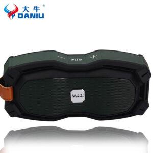 اسپیکر ضدآب بلوتوث Daniu Wireless With Touch Panel Speaker | DSP-1608