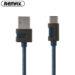 کابل شارژ سریع ریمکس Remax Type-C Data & Fast Charge Metal Braided Cable | RC-089a